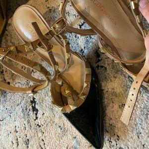 Black and nude heels!